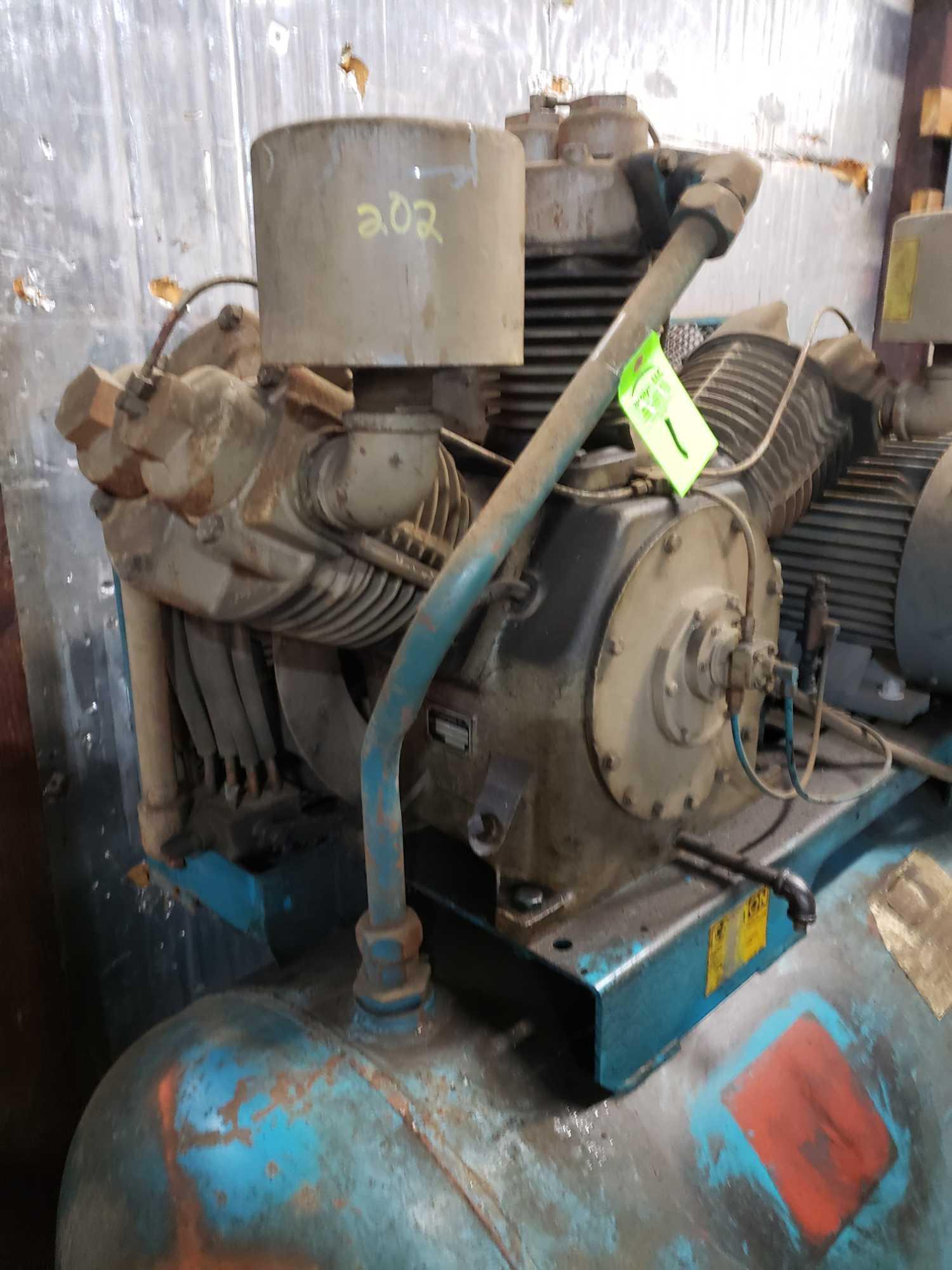 Lot 1 - LeRoi model 880a 25hp compressor. 3 phase, 230/460v.