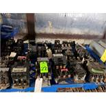 Large lot of assorted Contactors up to size 3 from Square D, Cutler Hammer and Allen Bradley