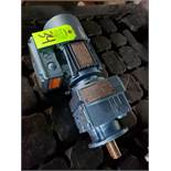 Sew Eurodrive gearmotor assembly. Models RF37DT71C4BM605HR and DFT71C4BM605HR. New with minor wear.