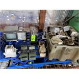 Pallet of assorted electrical Allen Bradley 9/series controller, Parker and more.