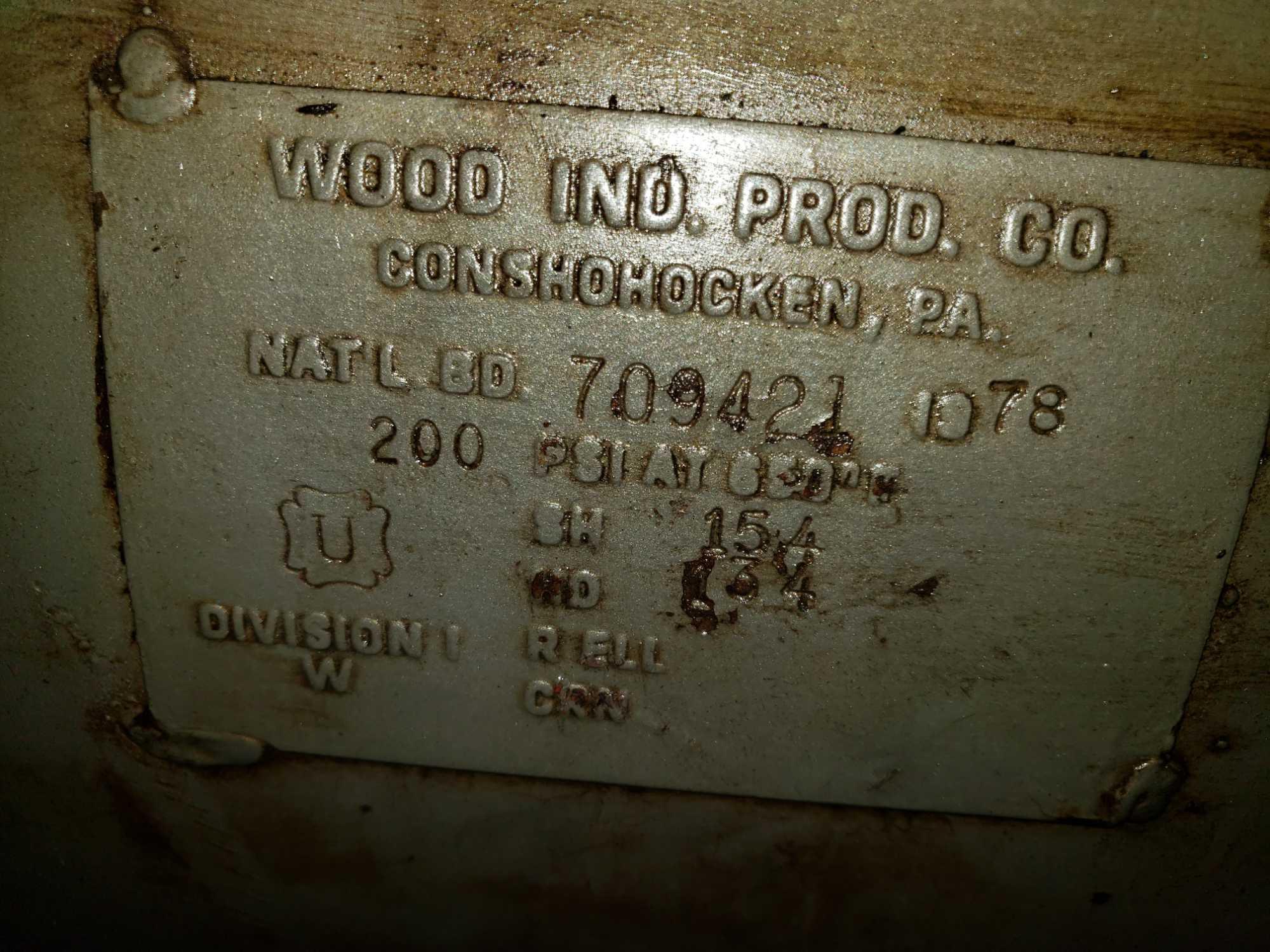 Lot 3 - Worthington 10HP air compressor. 208-230/460v, 3 phase baldor motor
