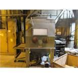Trinco Dry Blast Cabinet Model 48X48, S/N 69278-10, 4 ft. x 4 ft. x 4 ft.