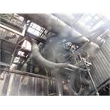 Carborundum Baghouse Model 360-M10, 35,000 CFM, 432 Bags, 100 HP Motor (#8)