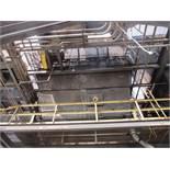 Carborundum Baghouse Model 270-M10, 55,000 CFM, 270 Bags, 150 HP Motor (#1)