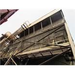 ETA Engineering Navistar Baghouse, 65,000 CFM, 810 Bags, 200 HP Motor (#6)