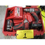 Milwaukee cordless drills with charger