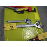 """15"""" & 24"""" crescent wrenches"""