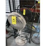 (3) electric fans