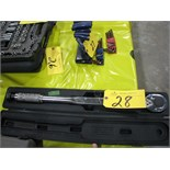 """Power Fist 3/4"""" drive torque wrench"""