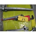 """14"""" & 24"""" pipe wrenches"""