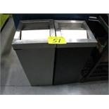 (2) garbage recepticals