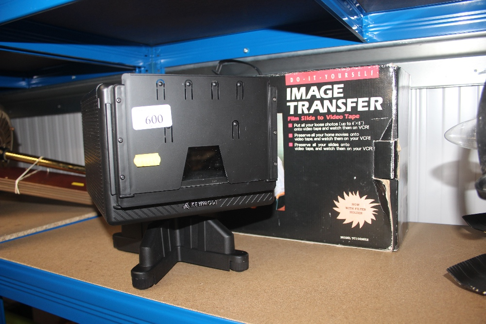 A boxed image transfer