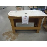 """""""PORTER CABLE"""" ROUTER BASE W/TABLE, MODEL 1001"""
