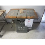 """""""DELTA"""" ROCKWELL TABLE SAW, MODEL 34-450"""