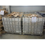METAL CONTAINERS, C/W SCRAP WOOD PCS