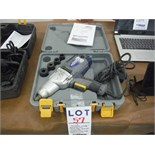 """""""MASTERCRAFT"""" ELECTRIC IMPACT WRENCH, C/W CARRYING CASE"""
