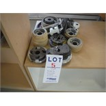 ASSORTED MOULDER HEADS, ROLLERS, ETC…