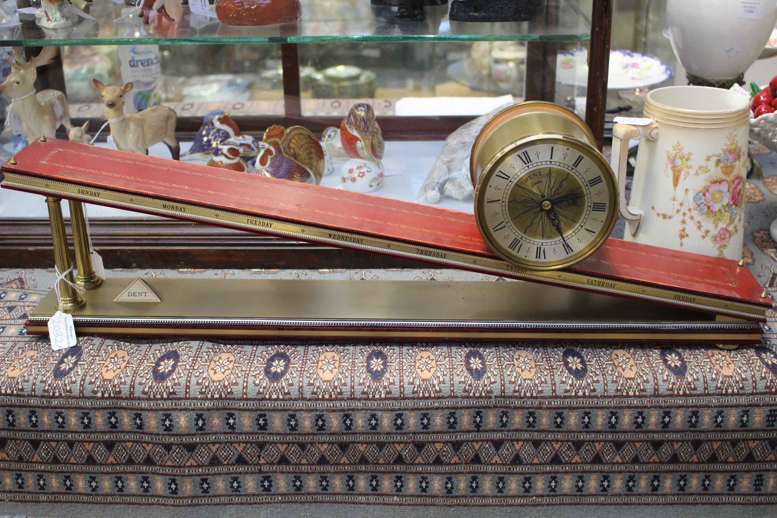 Lot 2032A - A Dent of London Inclined Plane Mantel Clock, limited to an edition of 500,