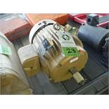 New Baldor electric motor, 10 hp, 3 ph, frame 215T, 1760 rpm - Rigging Fee: $25