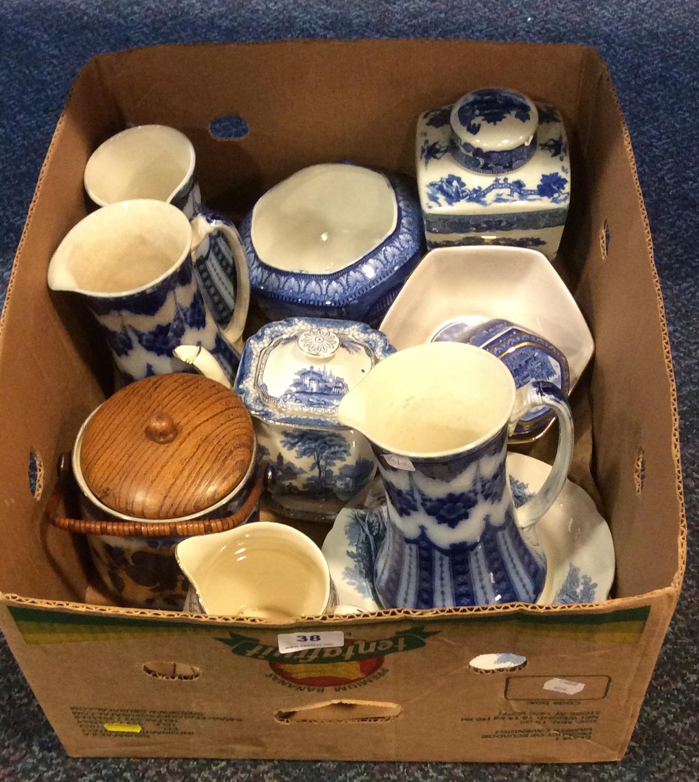 Lot 38 - Assortment pottery