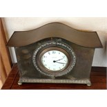 Copper mantle clock by Liberty London