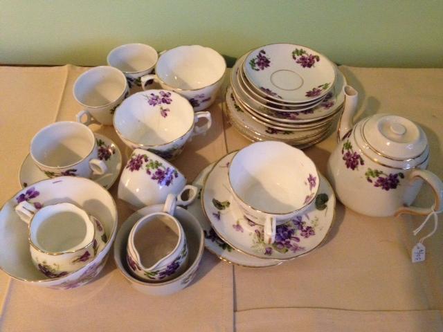 Lot 29 - Two part tea services