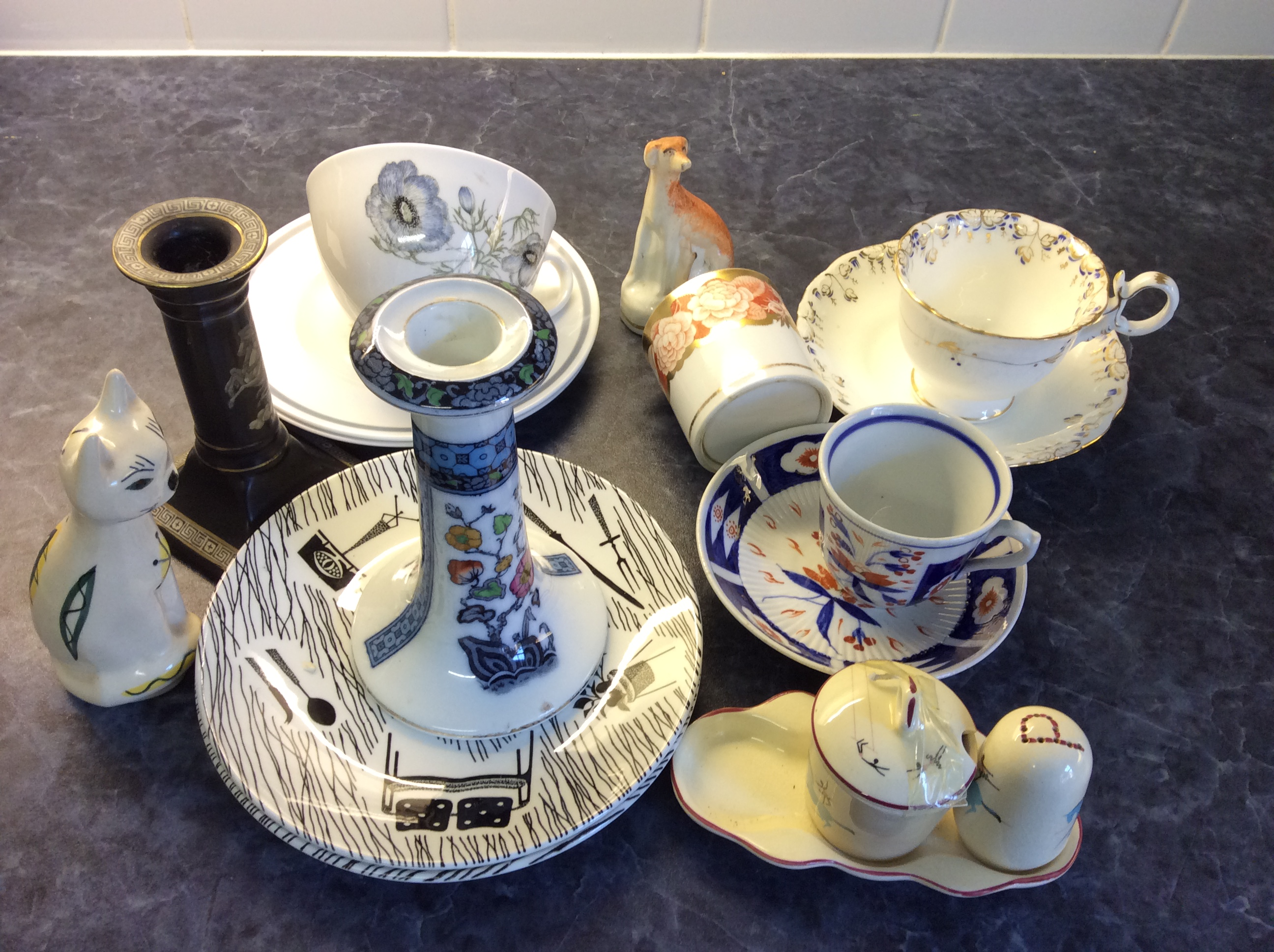 Lot 44 - Selection of ceramics