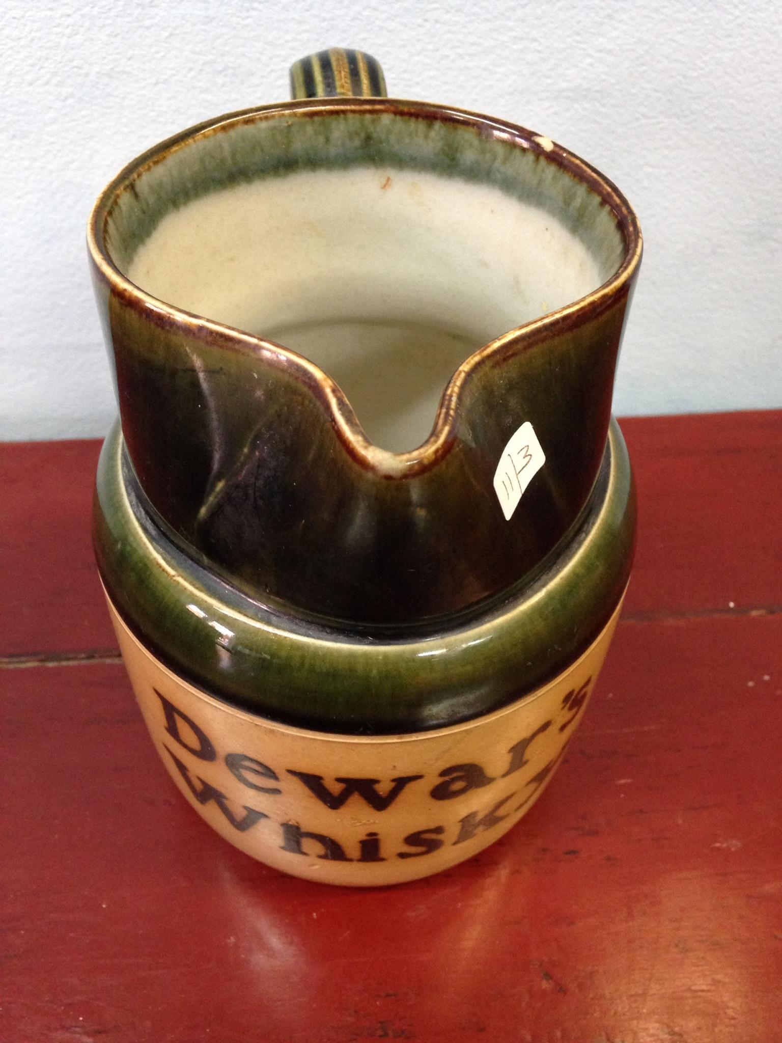 Lot 4 - Royal Doulton Dewars whisky jar (chip to rim)