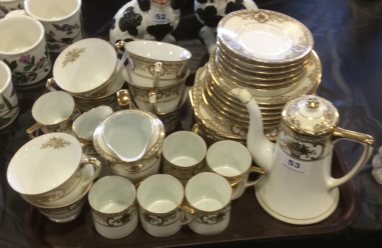 Lot 53 - Noritake porcelain tea and coffee service