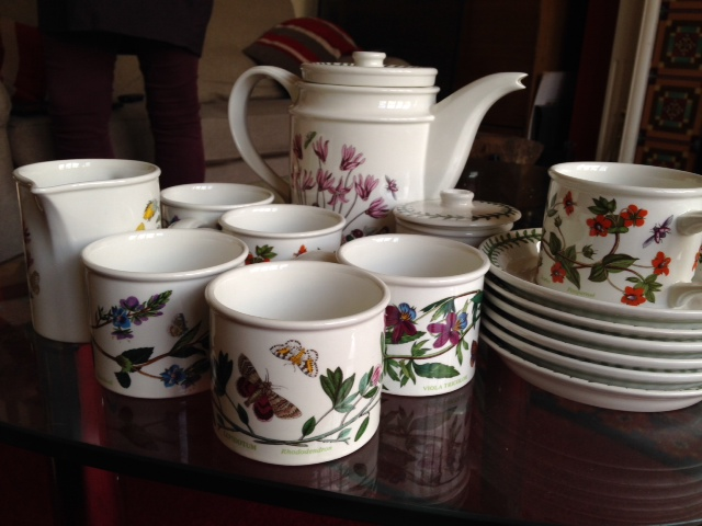 Lot 50 - Portmerion 6 place tea service