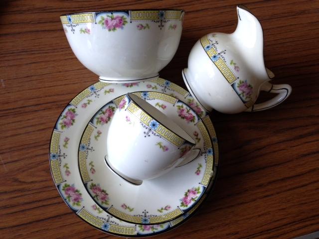 Lot 43 - Twelve setting Paragon china tea set some a/f
