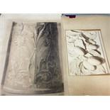 Two pencil drawings Edward S Kennedy fl. 1863-90 44.5 x 30 and 21 x 28