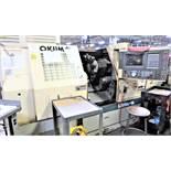 Okuma LB-15II-W 2-Axis CNC Lathe Turning Center, S/N 2592, New 1998