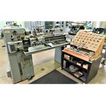 """12"""" x 36"""" Clausing Toolroom Engine Lathe Model 5914, S/N 506373"""