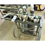 Brazing Cart with Gauge Sets