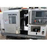 Okuma Captain L370 2-Axis CNC Turning Center Lathe, S/N 116573, New 2005