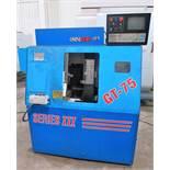 Ominiturn GT-75 III 3-Axis CNC Gang Type Tooling Lathe, S/N X3610, New 2001