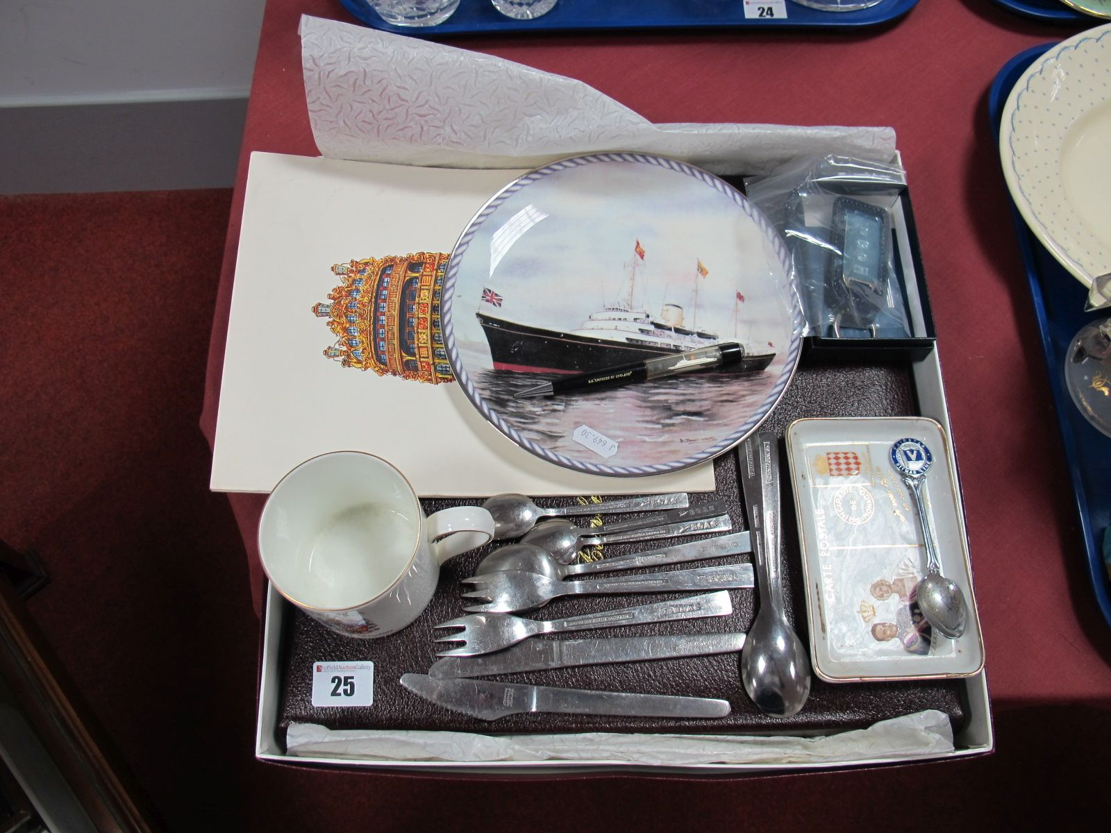 Lot 25 - A Small Collection of B.O.A.C. Stamped Stainless Steel Cutlery by Atkinsons and Arthur Price