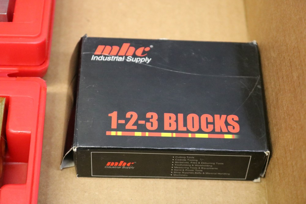 NEW SPI 123 Block Solid and Threaded and NEW MHC 123 Blocks Threaded - Image 4 of 5
