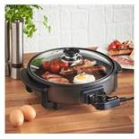 (OM15) 30cm Round Multi Cooker Convenient and easy to use cooker that frys, Sautés, Braises, ...