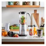 (OM29) 4-in-1 Blender Includes attachments for blending, grinding and juicing, as well as stro...