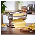 (OM6) Manual Pasta Machine Fully and easily adjustable for different thickness of pasta as wel...
