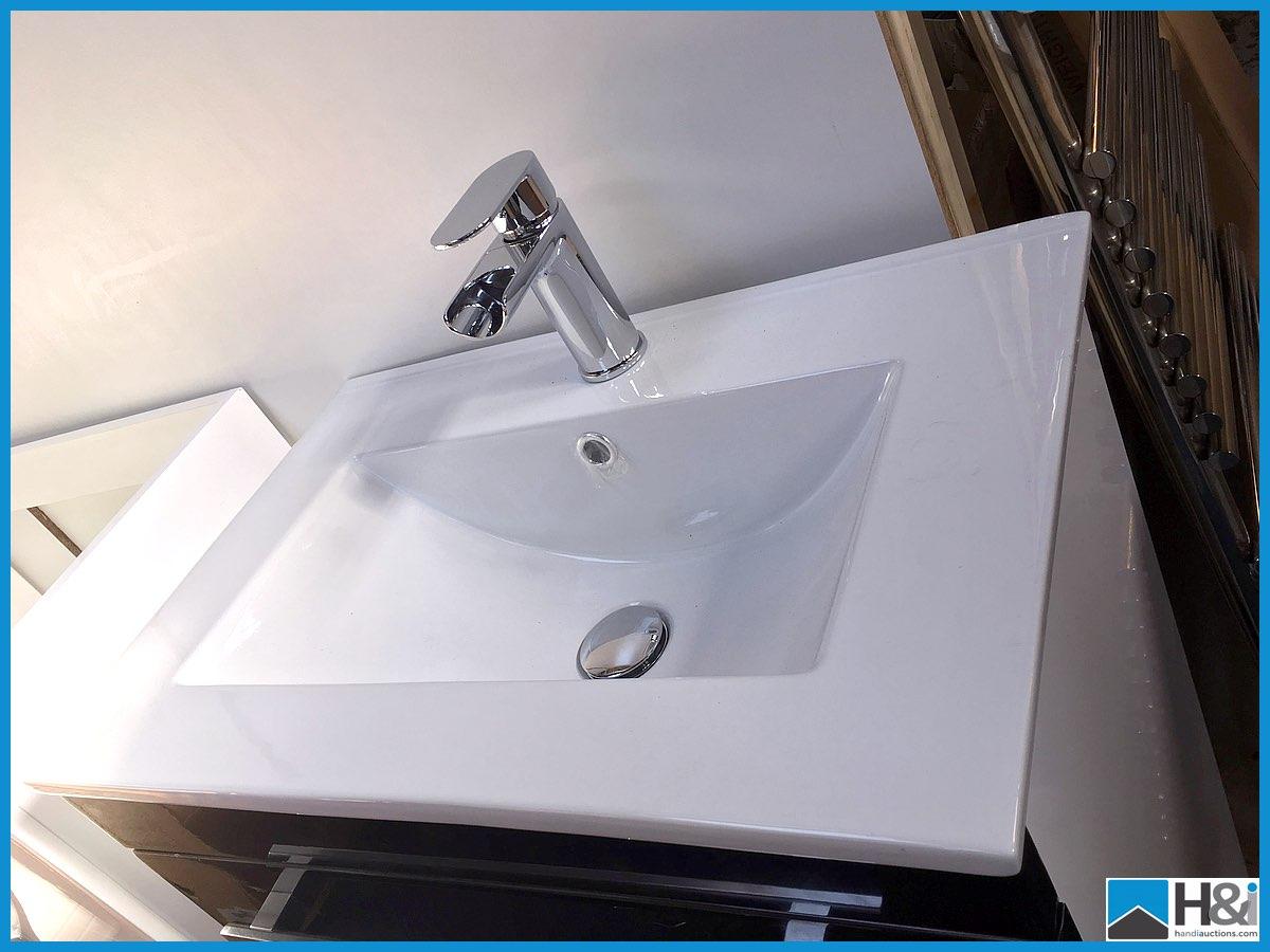 Designer floor standing vanity unit 600x400 with ceramic for 14 inch chrome floor standing fan