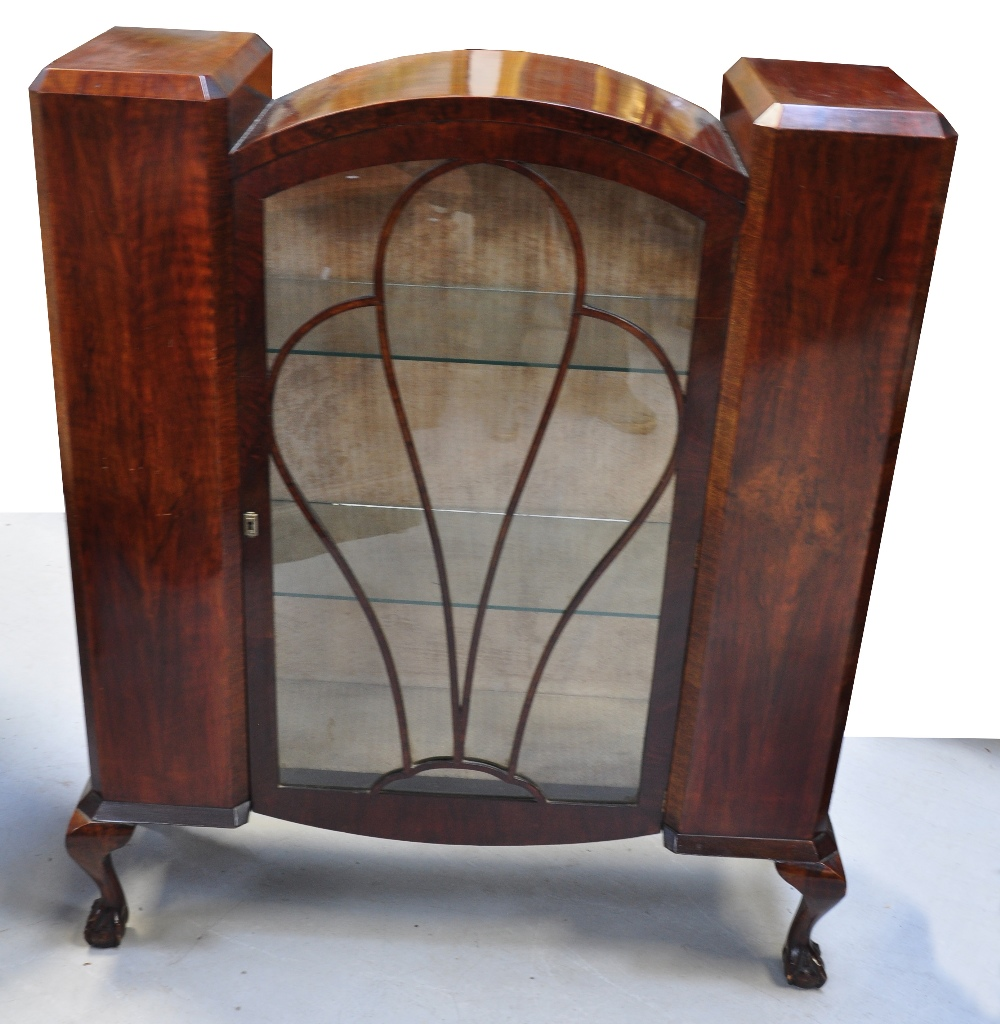 1930s kitchen cabinets a circa 1930 mahogany deco display cabinet with glazed 10057