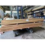 IROKO 50mm thick 2.7 and 3.7m lengths 1.1059m3, 25mm thick 3.6m lengths 1.1737m3