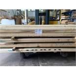 POPLAR (American tuplip wood) min width 150mm-350mm wide, 100mm thick 2.6-4.9m long - 0.476m3,
