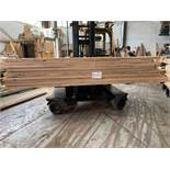 EUROPEAN OAK - Character Grade - Straight Edged QBIB Boules 54mm thick 2.9-3.5m lengths - 1.9654m3