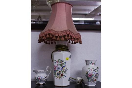 Aynsley Pembroke Lamp Vase Jug