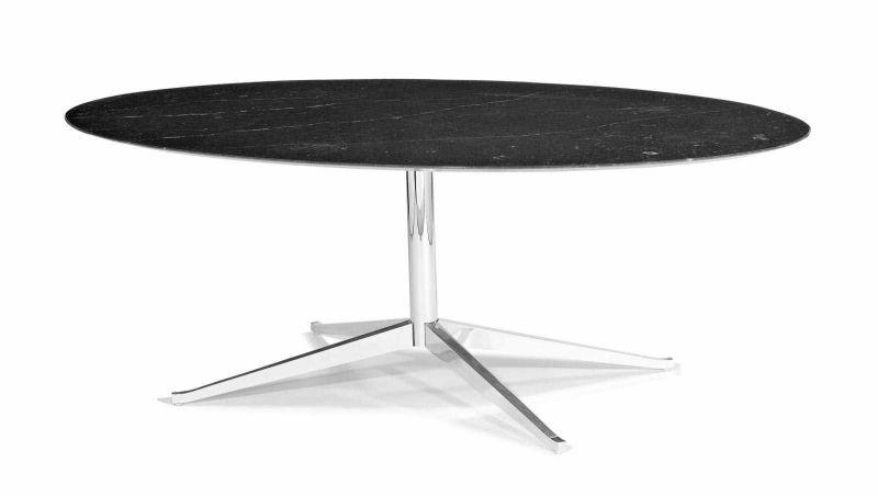 Florence knoll 1917 esszimmertisch modell oval table for Esszimmertisch oval