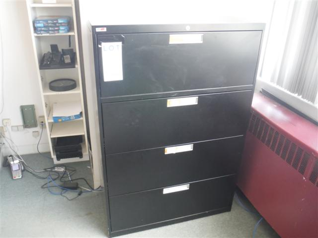 Lot 4 - 4 DRAWER LATERAL FILE CABINET